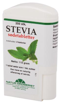 Stevia sødetabletter
