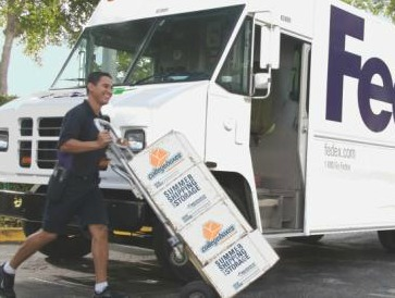 On your scheduled pickup date, FedEx will come right to your address and pickup all your labeled items. You can also drop off your items at any FedEx location at no additional charge.
