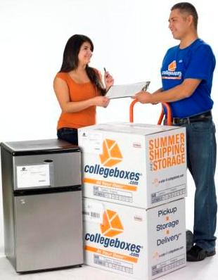 We deliver - All your storage items are delivered to your new room when you return. We offer free deliveries back to campus  on select day(s) corresponding with schools academic calendar. Special deliveries availabe for additional fee