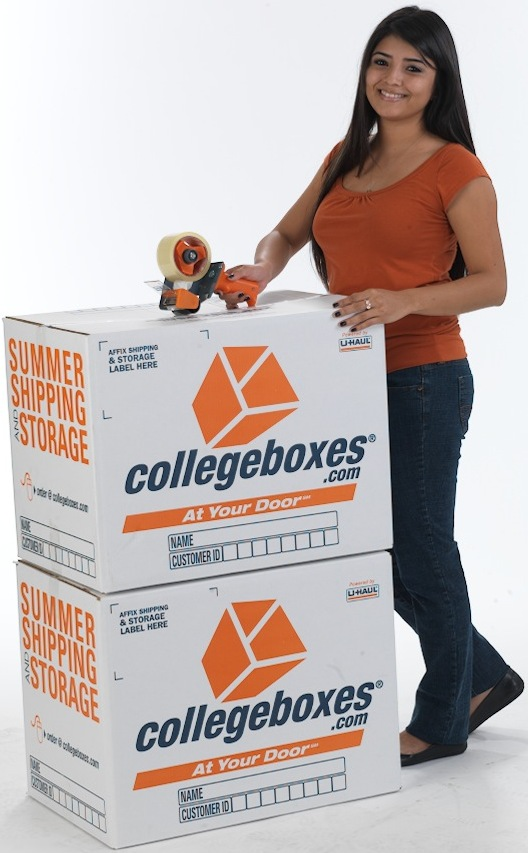 Pack and print labels, Pack then using your collegeboxes account, print shipping labels for each item and affix the labels to the corresponding item