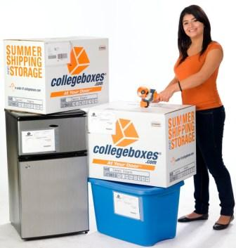 Pack then print labels - Pack all your belongings, then using your collegeboxes account create and print storage and/or shipping labels for all your boxes and misc storage items. Attach labels to corresponding items.