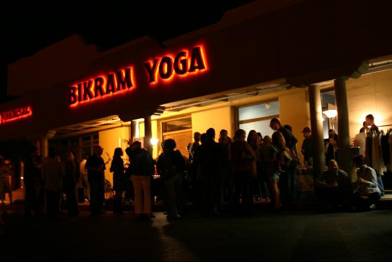 Bikram Yoga Sign