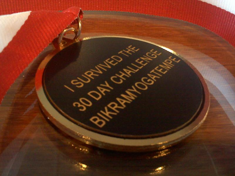 30 Day Medal