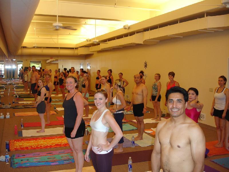 New Yoga Room