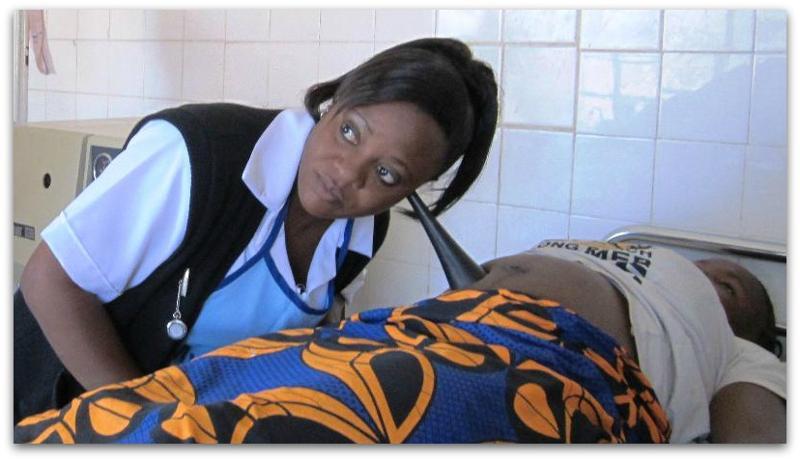 Zambia midwife