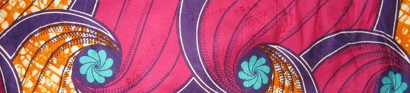 Zambia fabric banner