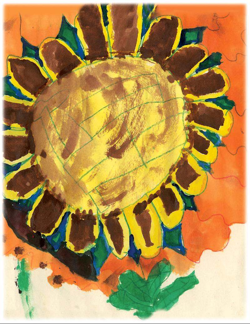 card-sunflower