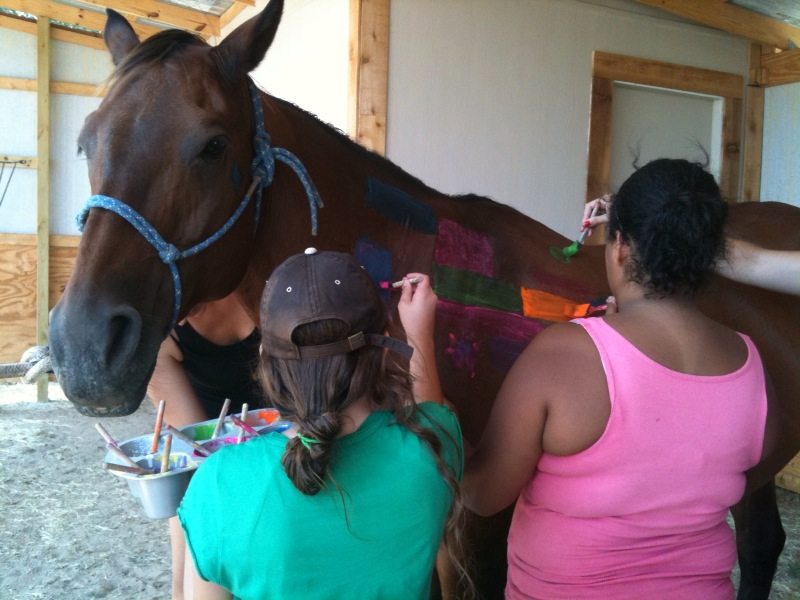horsepainting summer 2011