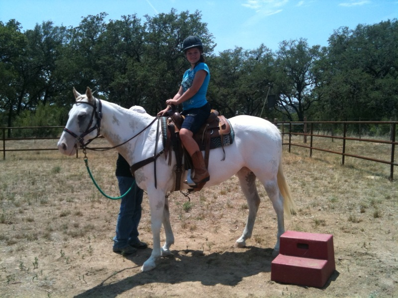 camp 2011 - horseback riding
