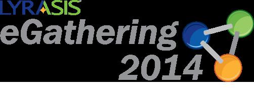 lyrasis egathering logo