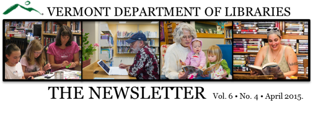 people in Vermont libraries