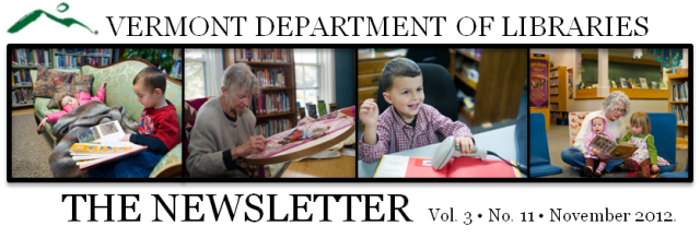 kids and adults in vt libraries