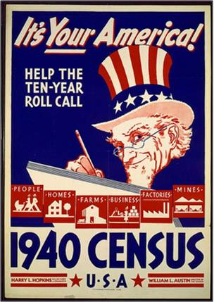 poster census 1940