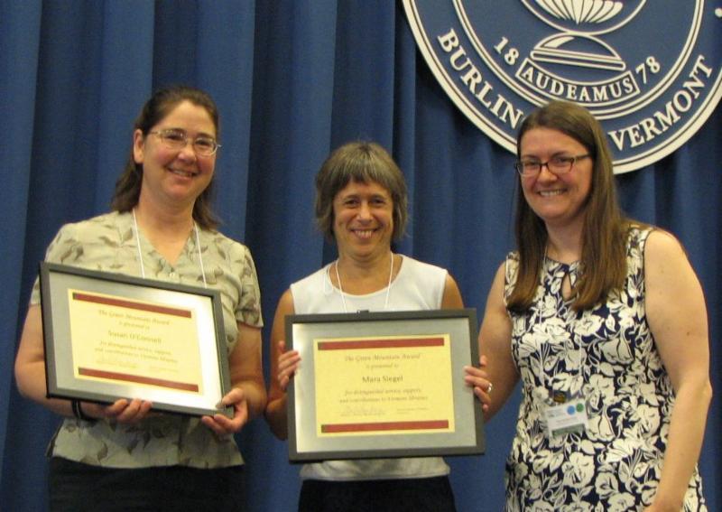 Green Mountain Award presentation