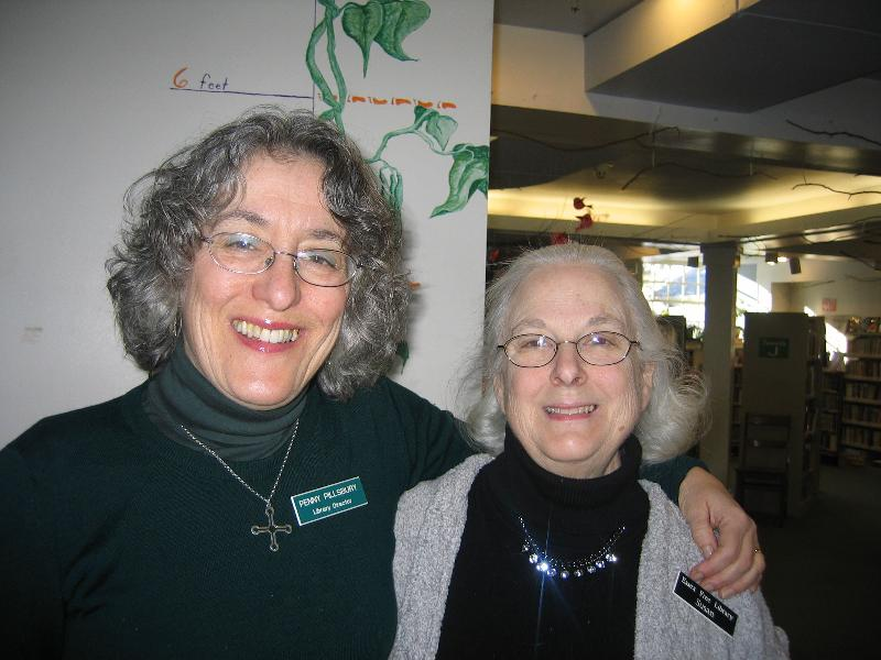 Penny Pillsbury and Susan Overfield