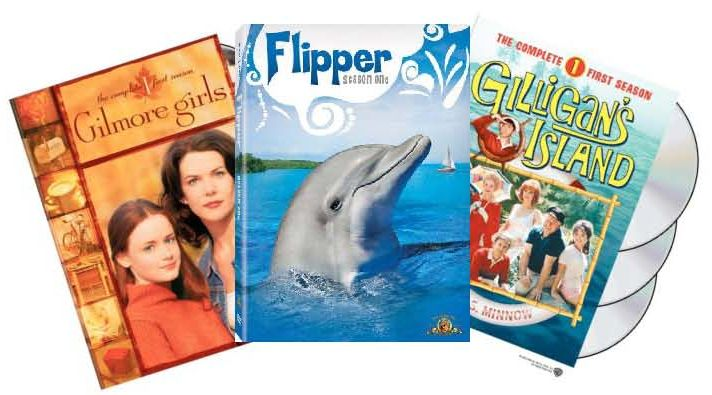 Gilmore Girls, Flipper, Gilligans Island Covers