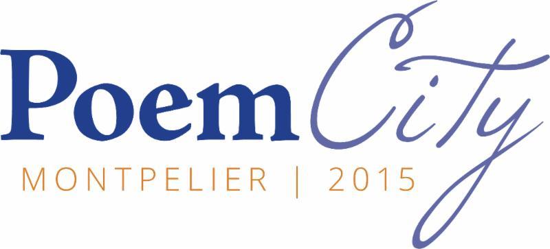Poem City Montpelier logo