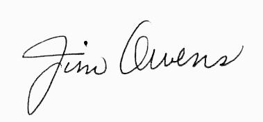 Jim Owens Signature