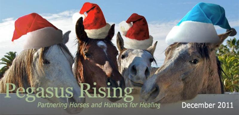 Pegasus Rising Happy Holidays 2011