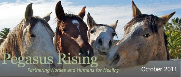 Pegasus Rising October 2011 Newsletter