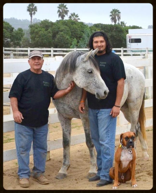 Chris & Carlos with Leo & Mattis