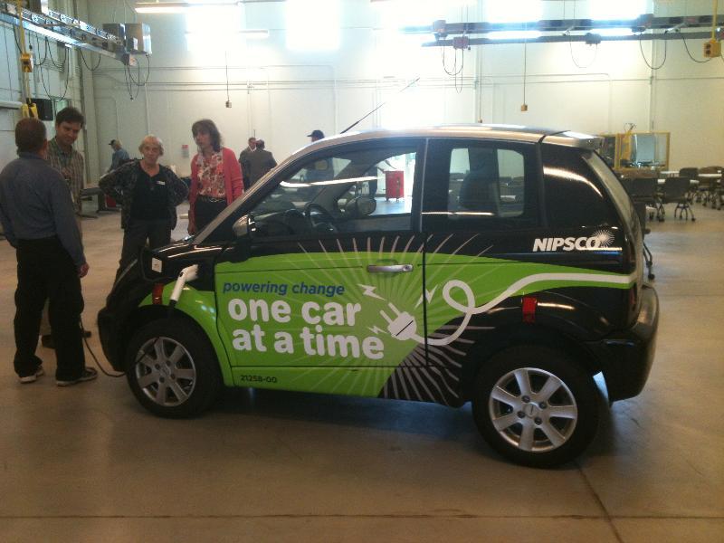 NIPSCO's electric car