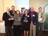 Annual Meeting Award winners