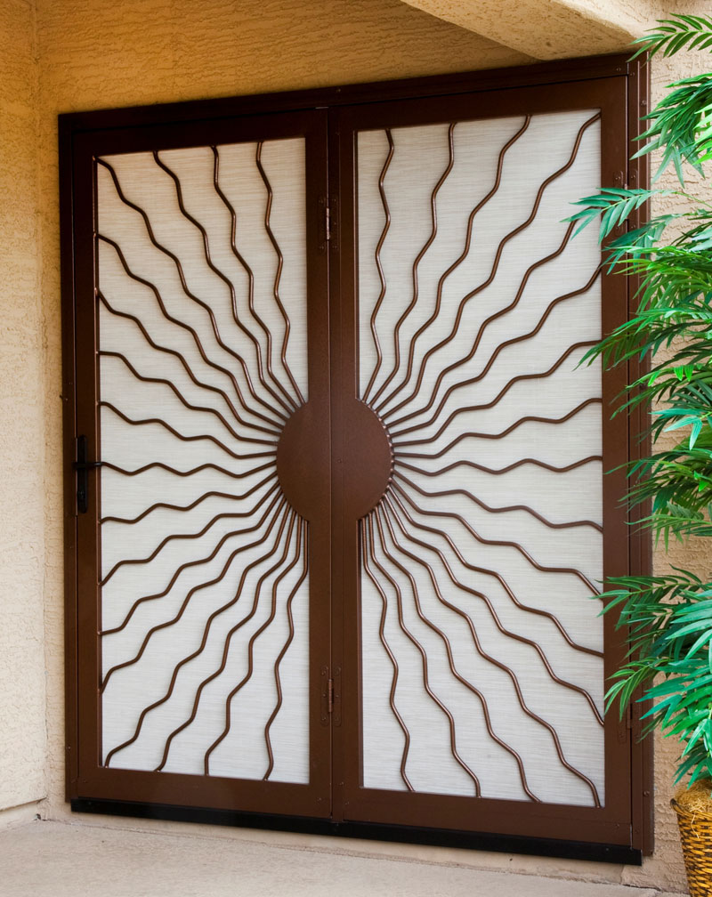 security screen doors for Security Screen Door Installation Cost