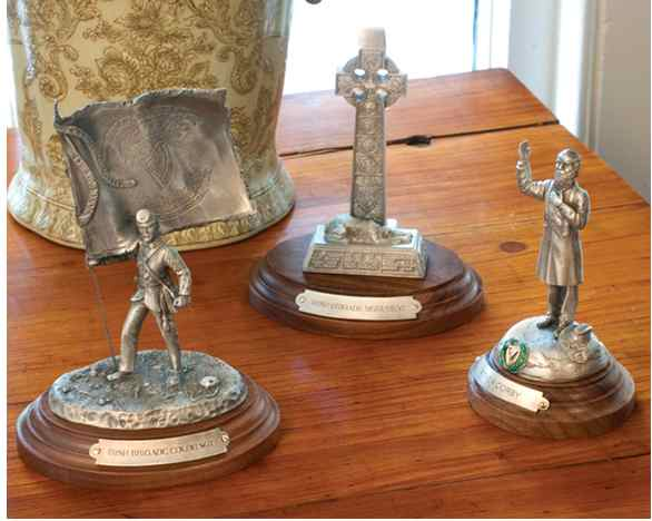 Chernak Pewter Sculptures