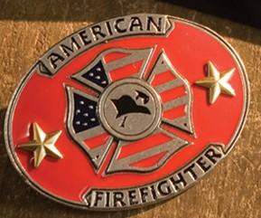 fire fighter belt buckle