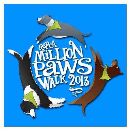 million paws walk 2013