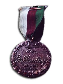 Dickin medal for valour