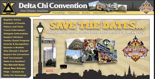 convention website