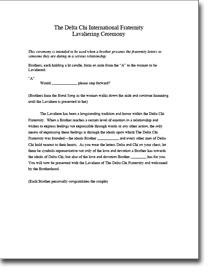 Delta Gamma Sorority Recommendation Letter