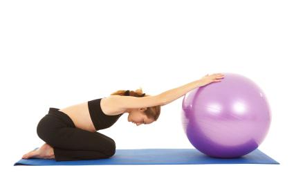 Prenatal mat/ball