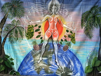 Earth Goddess Mural