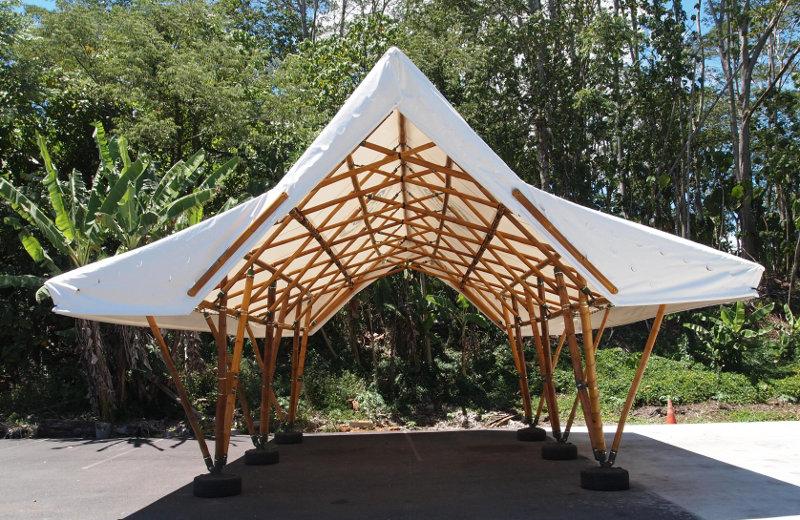 bamboo shelter