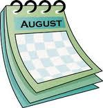calendar august