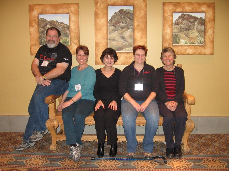 Area 12 attendees at Guild's 2012 Master Series