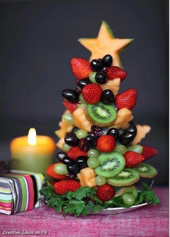 fruit Xmas tree