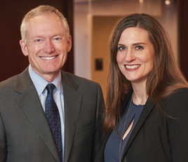 Tom-Shroyer and Jana Aune Deach