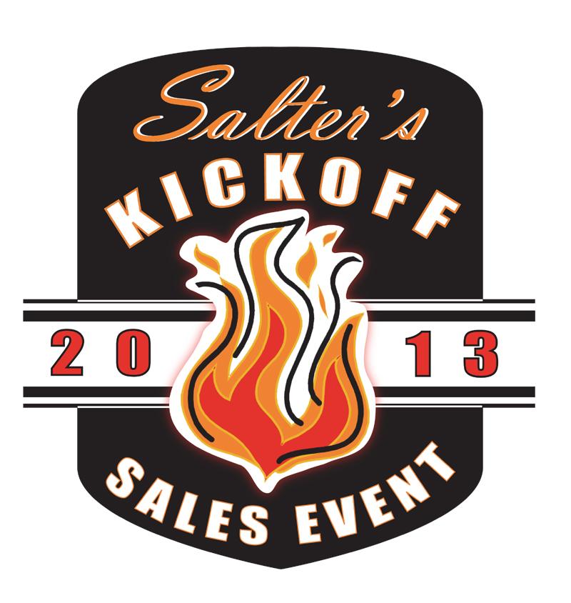 Salter's Kickoff Sales Event 9/13-14/13