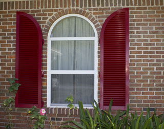 Arched Colonial Shutters Gulf Breeze, FL