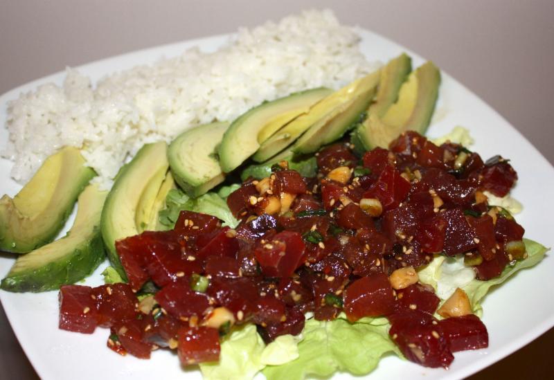 Basic Hawaiian Tuna Poke - Olympia Seafood