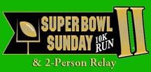 super bowl sunday run II art