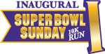 super bowl sunday run art