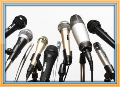 Microphones w border