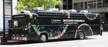 J. Craig Venter Institute Bus