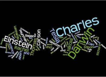 1st Wordle - Favorite Scientist of All Time