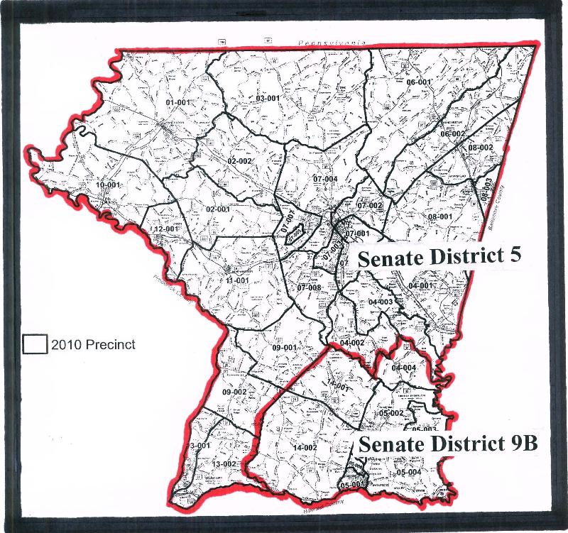 Getty Proposed Carroll Senate Plan